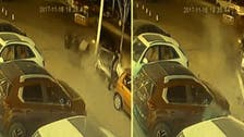 WATCH: Man miraculously escapes death twice