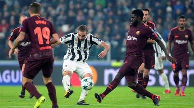 برشلونة يتعادل مع يوفنتوس ويطير إلى ثمن النهائي