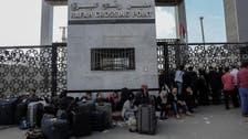 مصر تعيد فتح معبر رفح لمدة 3 أيام اعتبارا من السبت