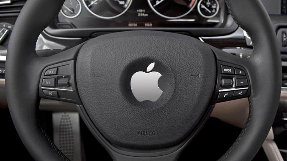 أبل سيارات ذاتية القيادة