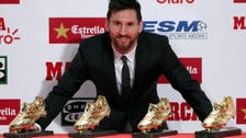 Messi receives 4th Golden Shoe as Europe's top scorer