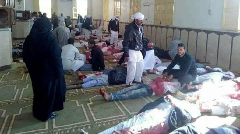 Death Toll In Egypt Mosque Attack Rises To With Injured - Al arabiya english