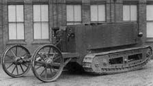 تاريخ دبابات الحرب العالمية الأولى