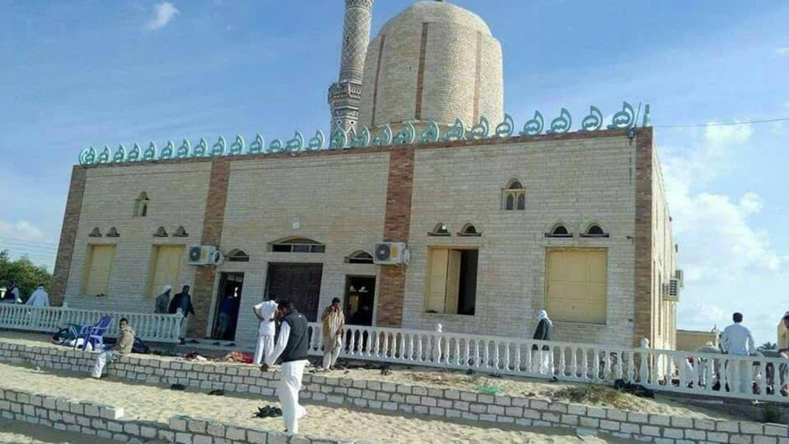 من تفجير مسجد العريش - مصر