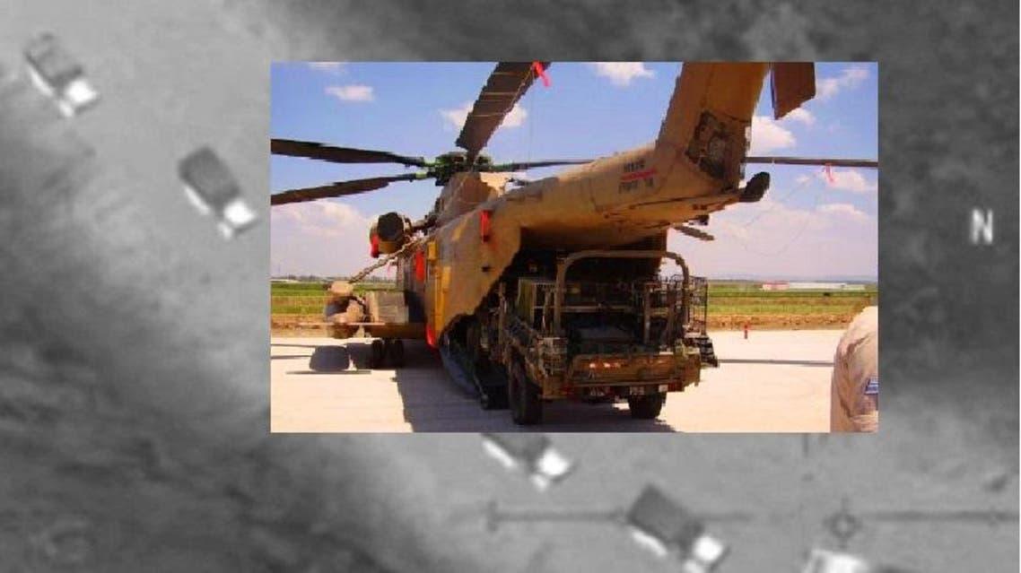 جاؤوا بطائرتي هليكوبتر، بزي الجيش السوري وسيارات تحمل شعاره