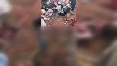 أول فيديو من داخل مسجد العريش بعد المجزرة