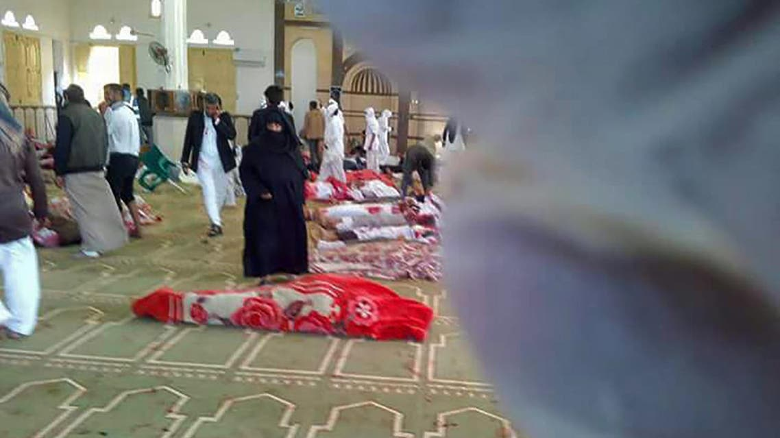 هجوم مسجد العريش  24-11-2017