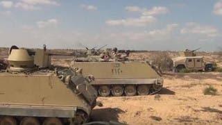 الجيش المصري: مقتل ثلاثة جنود في عمليات سيناء