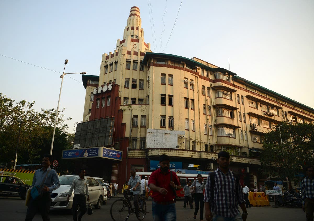Bombay, as the Indian city was formerly called, is known more for its Victorian Gothic edifices than the sleeker architectural designs that swept Europe and America during the 1920s and '30s. (AFP)