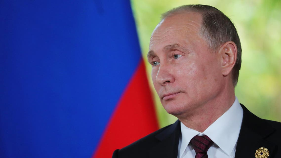Russia's President Vladimir Putin speaks to the media reuters