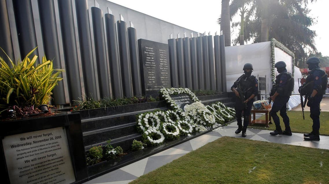 Police commandos pay tribute at a police memorial marking the ninth anniversary of the Mumbai2008 attacks, which killed 166 people, in Mumbai, on November 26, 2017. (Reuters)