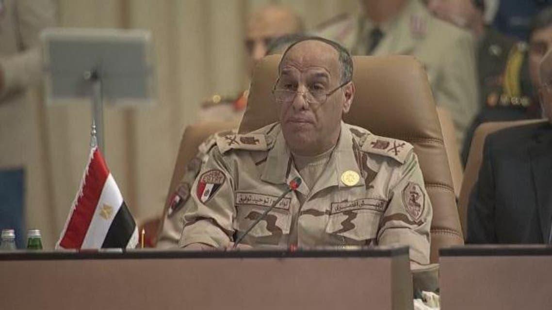 اللواء توحيد توفيق رئيس وفد مصر في اجتماع التحالف الإسلامي في الرياض