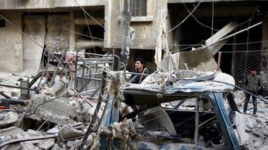 """النظام يصعد قصفه شرقي دمشق.. لفك حصار """"إدارة المركبات"""""""