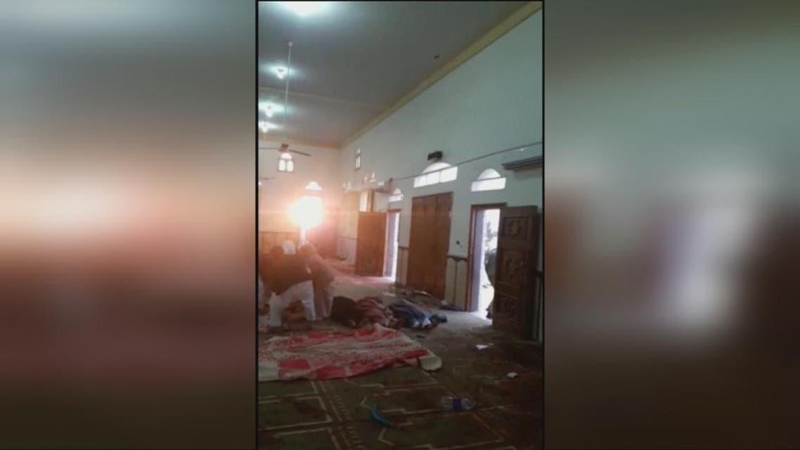 THUMBNAIL_ داعش هدد بتفجير مسجد الروضة قبل عام