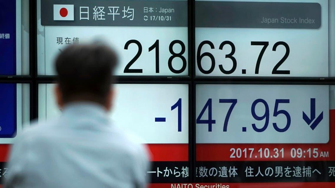 نيكاي أسهم اليابان بورصة طوكيو