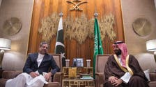 محمد بن سلمان ورئيس وزراء باكستان يبحثان سبل التعاون