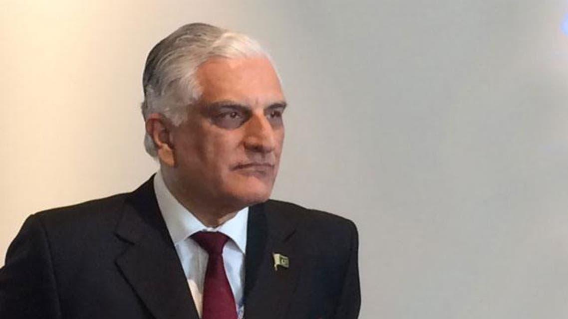 وزير القانون المستقيل زاهد حامد