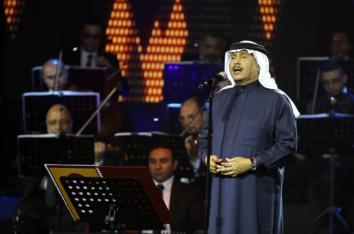 Saudi Arabian singer Mohammed Abdu peforms during a concert in Riyadh, Saudi Arabia, March 9, 2017. Picture taken March 9, 2017. (Reuters)