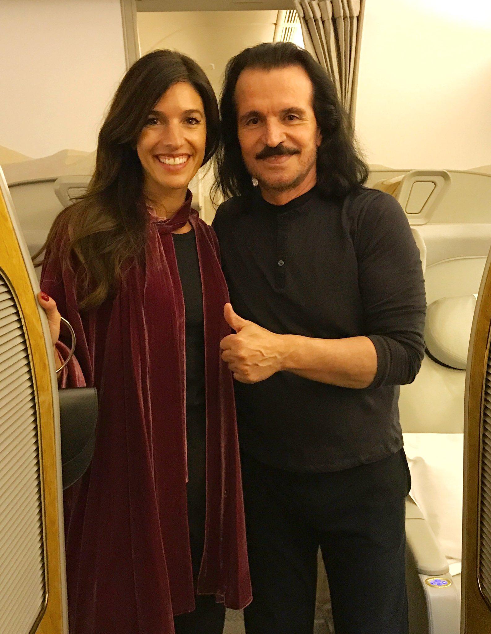 یانی و دخترش