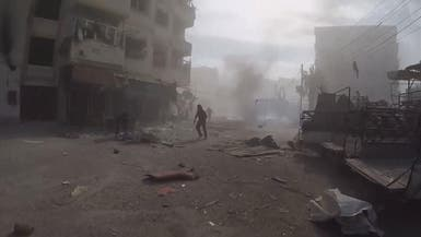 مقتل 17 مدنياً بقصف جوي على غوطة دمشق الشرقية
