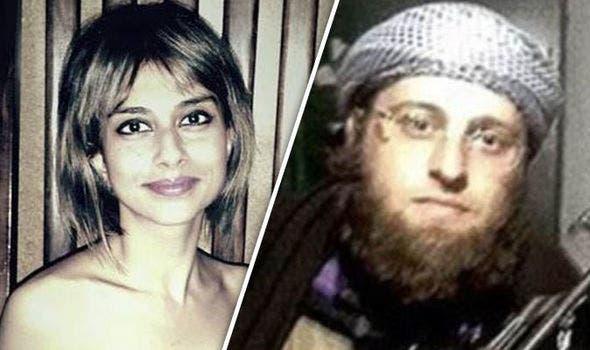 تانيا وزوجها الداعشي