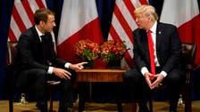 Trump, Macron say UN's Syria talks in Geneva 'only legitimate forum'