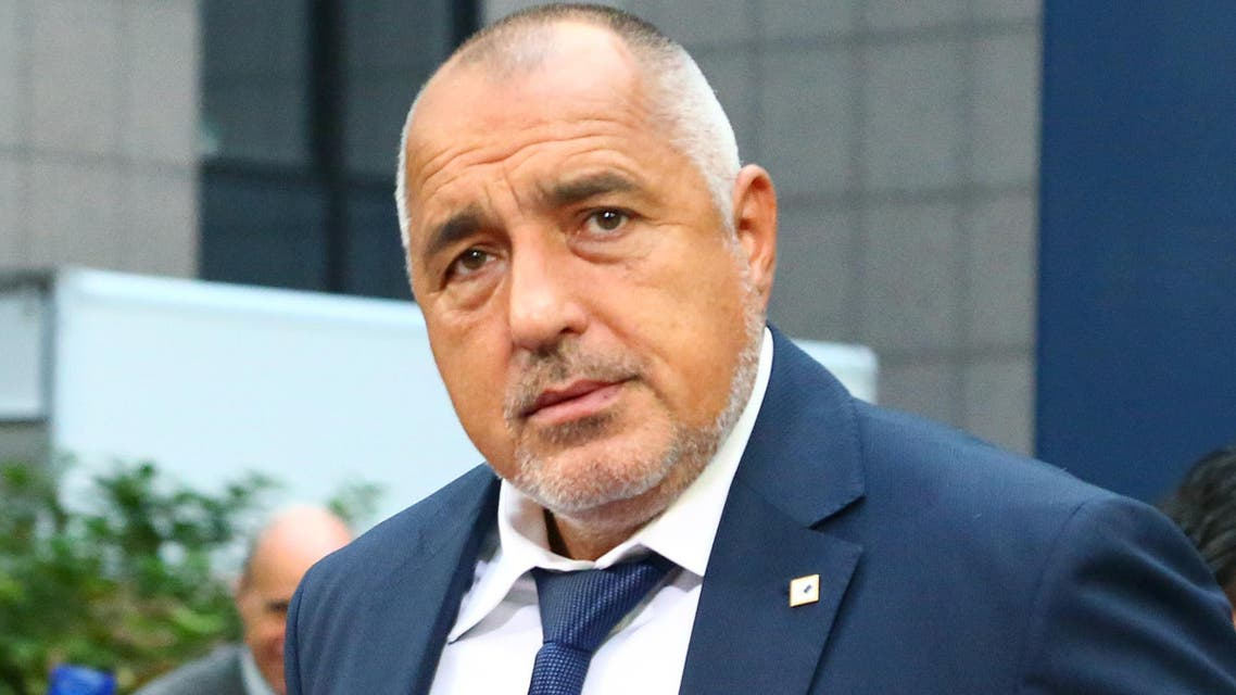 Bulgaria's Prime minister Boyko Borissov arrives on the second day of a summit of European Union (EU) leaders in Brussels on October 20, 2017. (AFP)