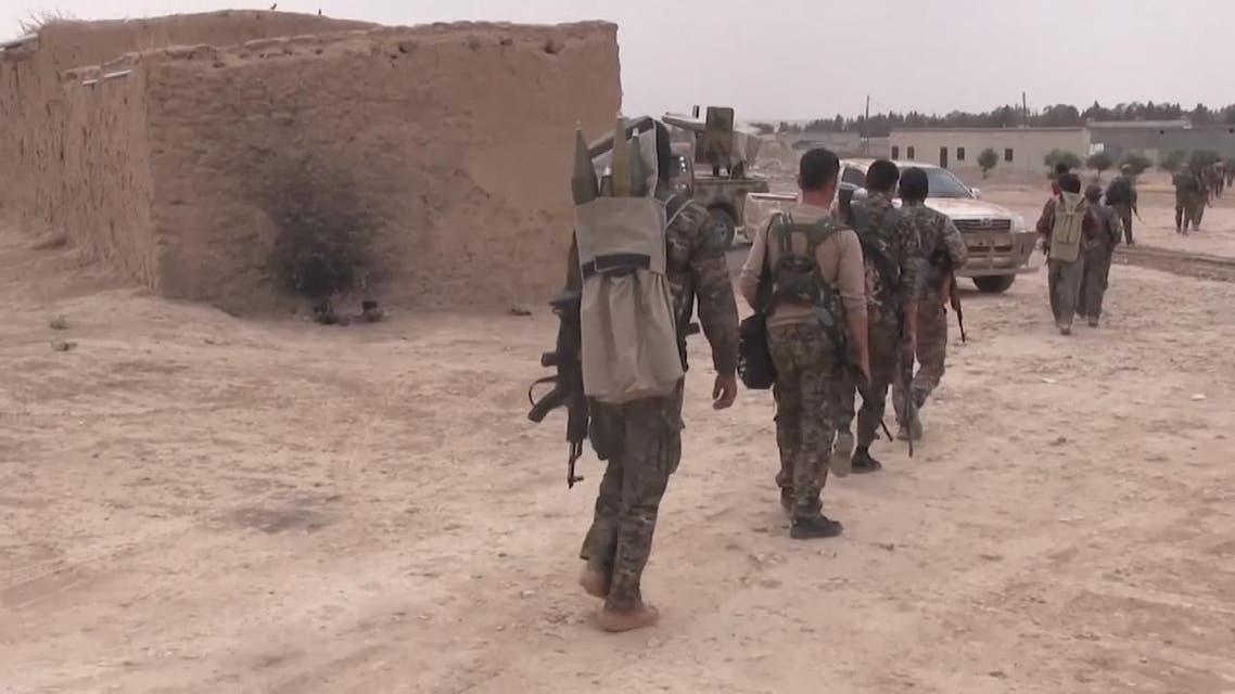 THUMBNAIL_ لقطات توثق استمرار تدفق العتاد الأميركي للأكراد شمال #سوريا