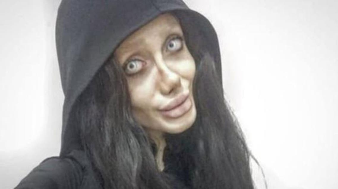19-year-old Iranian girl and one of the biggest fans of Hollywood famous actress Angelina Jolie.(Supplied)