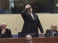 على الهواء.. #انتحار قائد الكروات بعد تجرعه السم في المحكمة