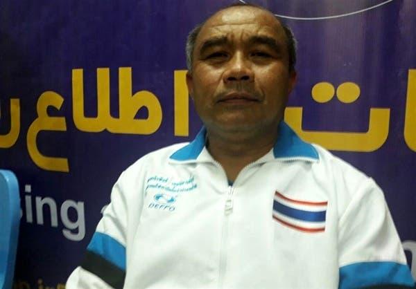 مربی تیم کبدی دختران تایلند