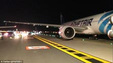 WATCH: EgyptAir plane clips wings with Virgin Atlantic jet at New York airport