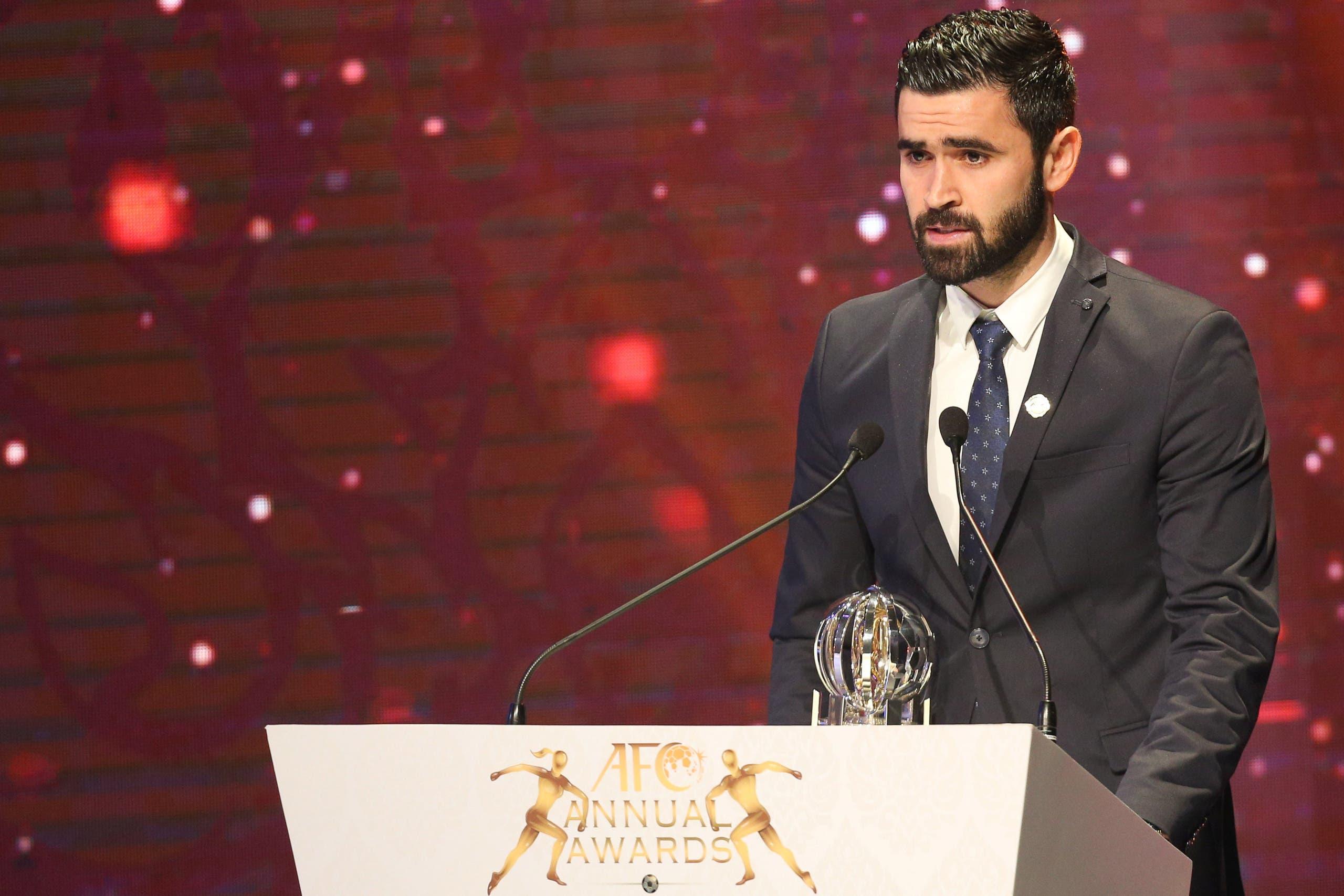 عمر خربين أفضل لاعب آسيوي