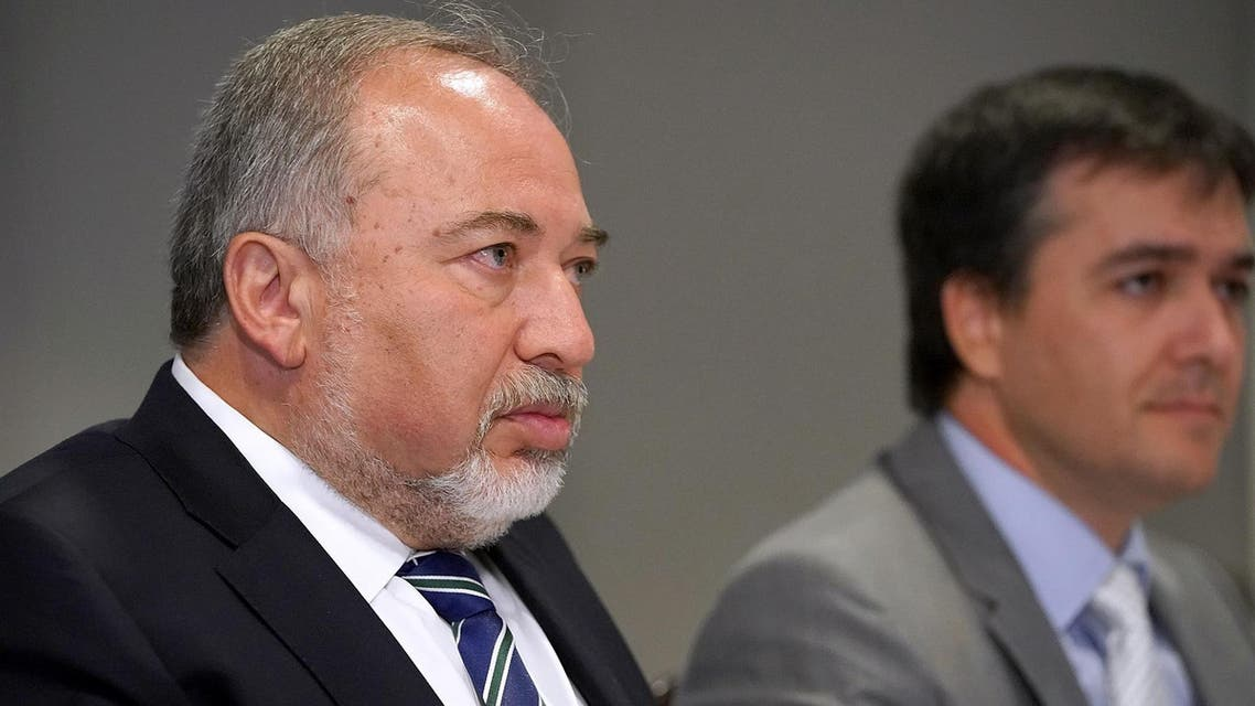 Defense Minister Avigdor Lieberman issued the order to prevent the diplomats from travelling to the Palestinian enclave from Israeli territory. (AFP)