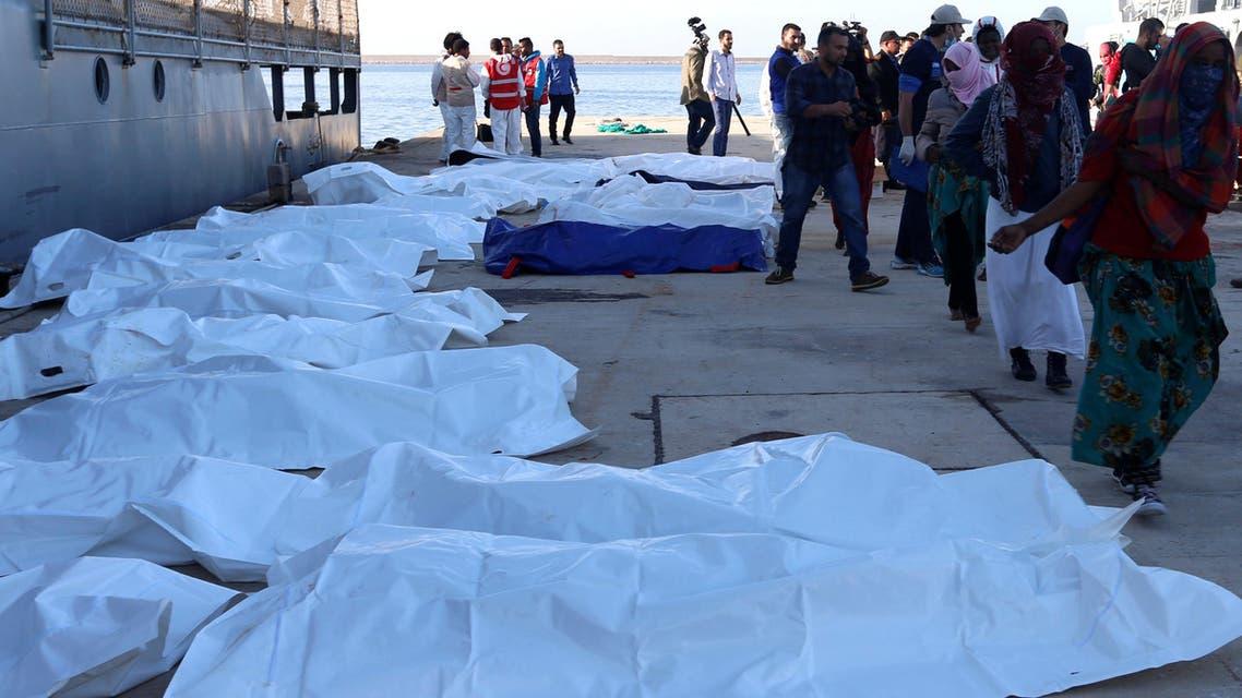 مهاجرين في ليبيا