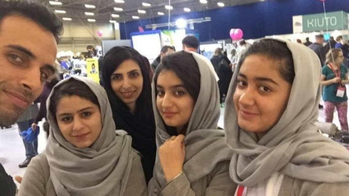 Afghan girls' robotics team who were denied US entry win Europe's top contest