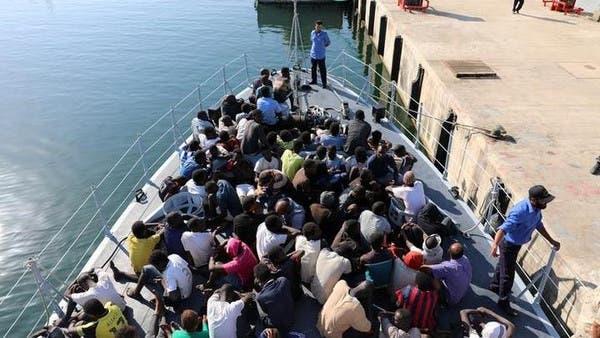 ليبيا تعلن اعتراض 23 مهاجراً إلى أوروبا قبالة الساحل