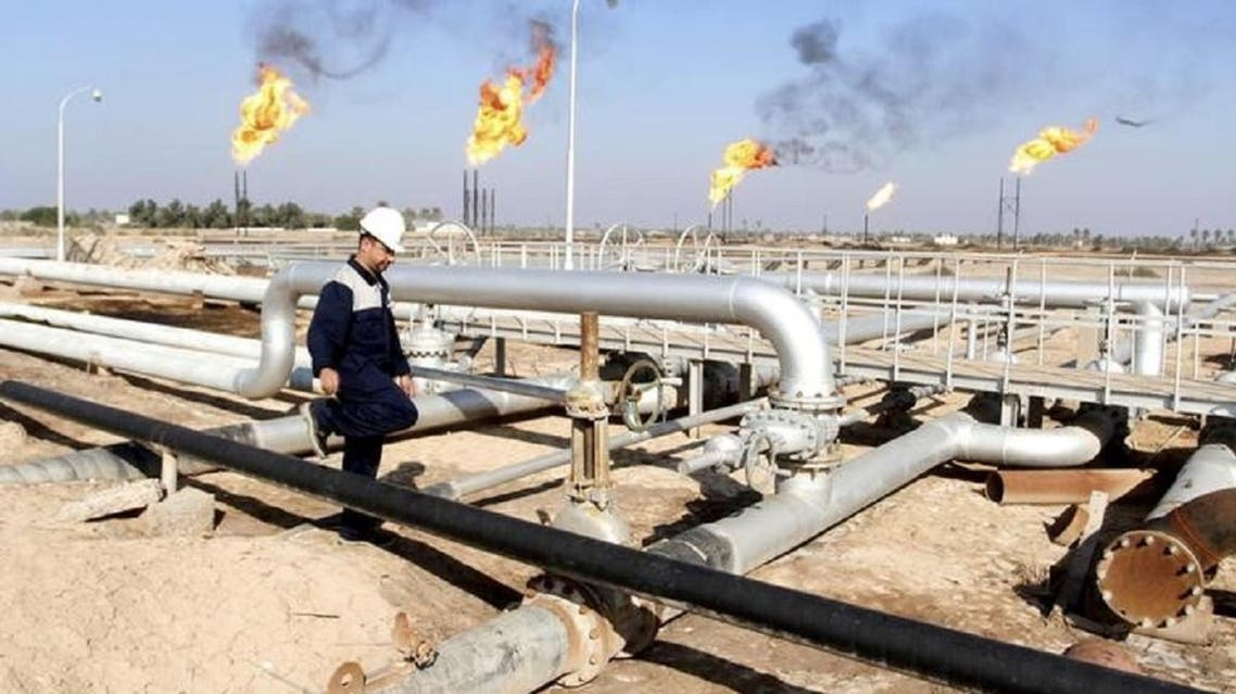 An oil field in the Iraqi city of Basra. (Reuters)