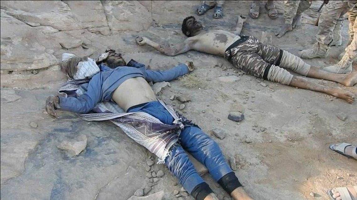 قتلى مليشيات الحوثي في صعدة