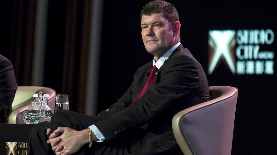 James Packer attends a news conference at Melco Crown's Studio City in Macau, China October 27, 2015. (Reuters)