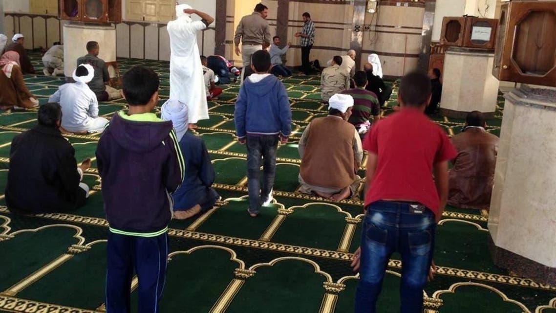 مسجد الروضة بسيناء الذي وقعت فيه المجزرة بعد تجديده