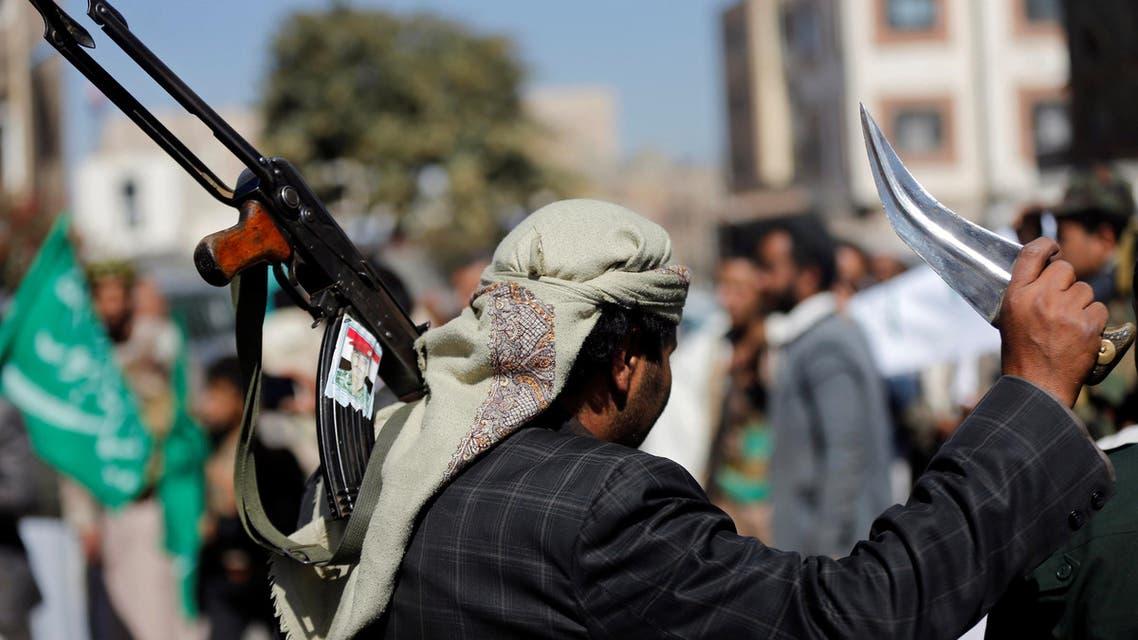 أحد أنصار الحوثي في صنعاء