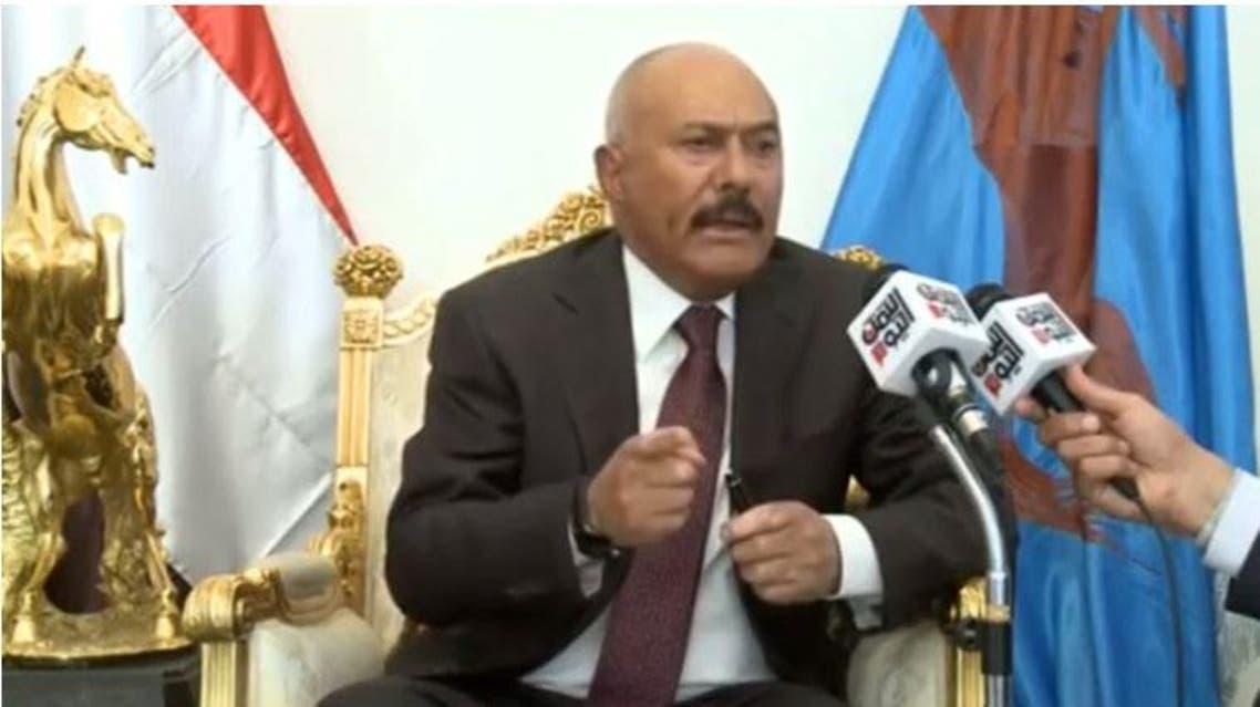 علي عبد الله صالح - حيدث اليمن اليوم 3