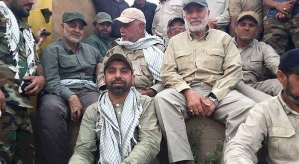 سليماني في العراق مع قادة ميليشيات الحشد الشعبي