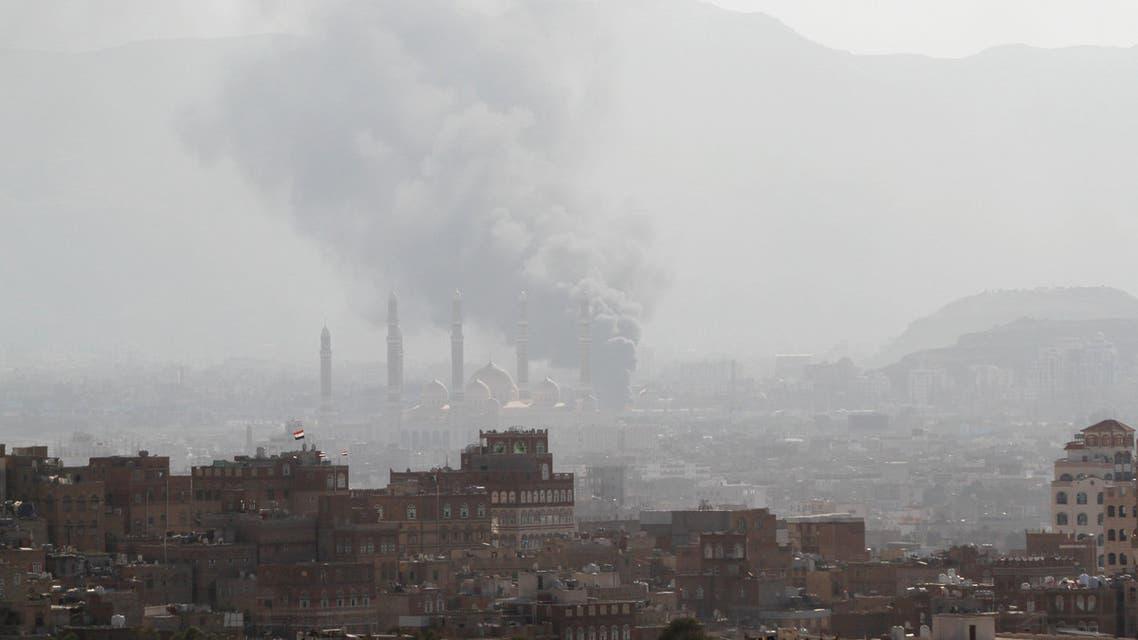 دخان معارك عنيفة في صنعاء 2-12-2017