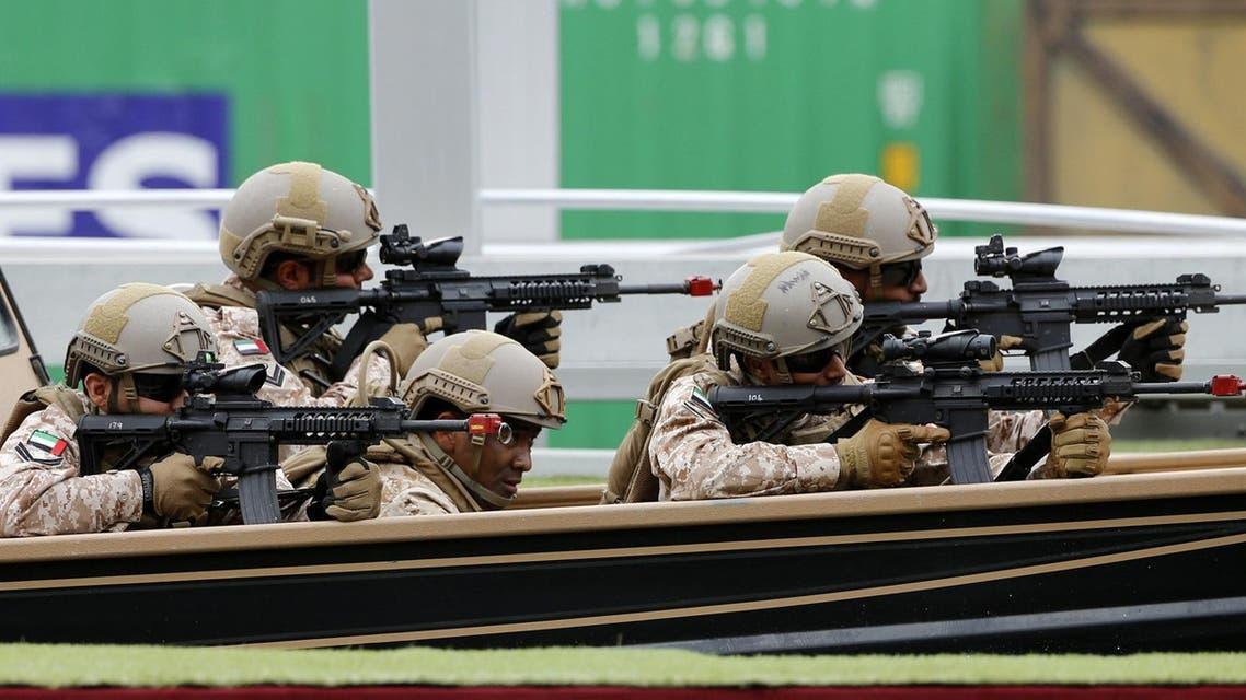 UAE soldiers IDEX AFP