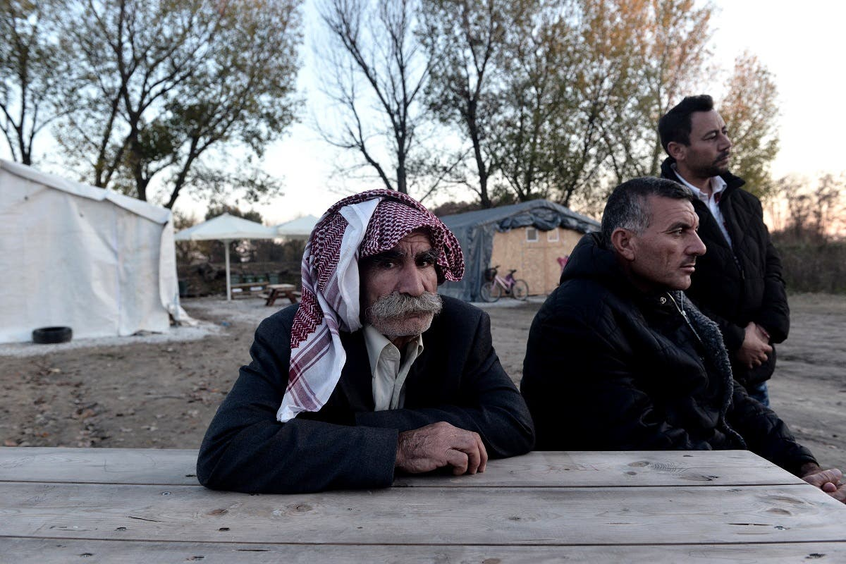 Having run the gauntlet of invasion, combat, killings and enslavement by ISIS in Iraq, the members of the Yazidi religious minority have found temporary shelter in the largely agricultural region of Serres in northern Greece. (AFP)