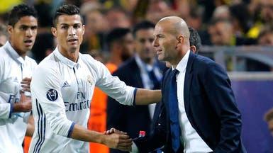 زيدان يتمنى بقاء رونالدو في صفوف ريال مدريد