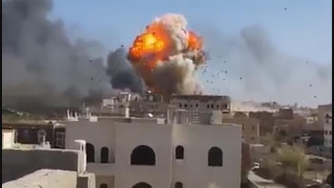 THUMBNAIL_ ميليشيات الحوثي تقصف #صنعاء وتحذيرات أممية من كارثة إنسانية