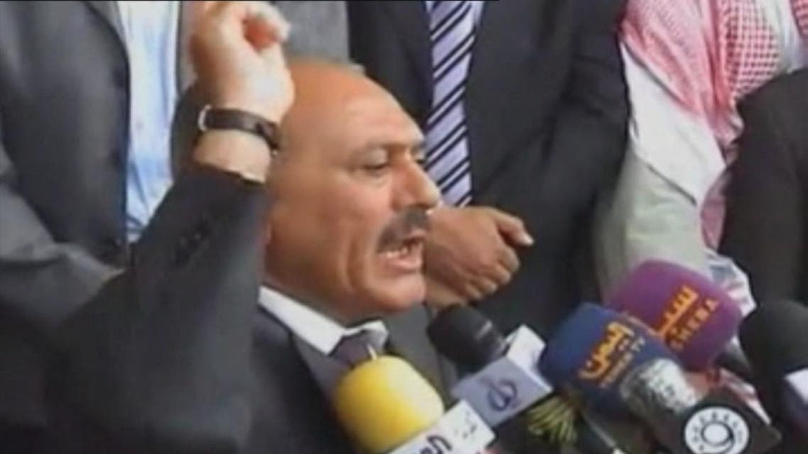 THUMBNAIL_ ميليشيات الحوثي تعدم #صالح وتمثل بجثته